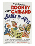Babes in Arms  Mickey Rooney  Judy Garland  1939