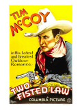 Two Fisted Law  Tim Mccoy  1932