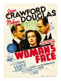 A Woman's Face  Conrad Veidt  Joan Crawford  Melvyn Douglas on Midget Window Card  1941