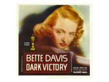 Dark Victory  Bette Davis on Window Card  1939