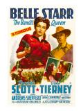 Belle Starr  Gene Tierney  Randolph Scott  1941