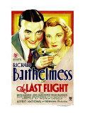 Last Flight  Richard Barthelmess  Helen Chandler  1931