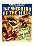 The Shepherd of the Hills  Harry Carey  Betty Field  John Wayne on Window Card  1941