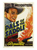 Pals of the Saddle  John Wayne  1938