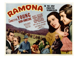 Ramona  Kent Taylor  Pauline Frederick  John Carradine  1936