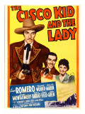 The Cisco Kid and the Lady  Cesar Romero  Marjorie Weaver on Midget Window Card  1939