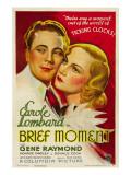 Brief Moment  Gene Raymond  Carole Lombard  1933
