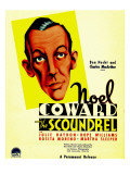 The Scoundrel  Noel Coward on Midget Window Card  1935