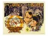 Conquest (Aka Marie Walewska)  Top Center from Left: Charles Boyer  Greta Garbo  1937