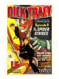 Dick Tracy  Ralph Byrd in 'Episode 1: the Spider Strikes'  1937