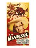 Trailing Trouble  Ken Maynard  1937