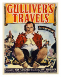 Gulliver&#39;s Travels  Midget Window Card  1939