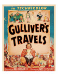 Gulliver&#39;s Travels  Window Card  1939