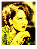 Norma Shearer on Portrait Poster  Jumbo Window Card  Ca 1932