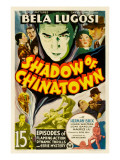 Shadow of Chinatown  Top Center: Bela Lugosi  1936