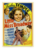 Little Miss Broadway  Edna May Oliver  Shirley Temple  Jimmy Durante  1938