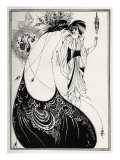 The Peacock Skirt&#39; - Aubrey Beardsley &#39;s illustration for &#39;salome &#39; by Oscar Wilde