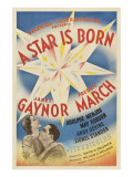 A Star Is Born  Janet Gaynor  Fredric March  1937