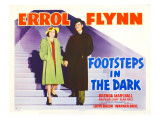 Footsteps in the Dark  Brenda Marshall  Errol Flynn  1941