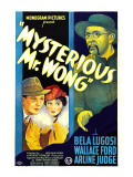 Mysterious Mr Wong  Wallace Ford  Arline Judge  Bela Lugosi  1935
