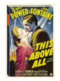 This Above All  Joan Fontaine  Tyrone Power  1942