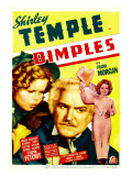 Dimples  Shirley Temple  Frank Morgan  Shirley Temple on Midget Window Card  1936
