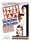 Three Faces East  1930