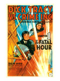 Dick Tracy Vs Crime Inc  Front: Ralph Byrd in &#39;Chapter 1: the Fatal Hour&#39;  1941