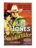 Sundown Rider  Barbara Weeks  Buck Jones  1932