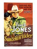 Sundown Rider  Barbara Weeks  Buck Jones  1932
