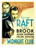 Midnight Club  Clive Brook  George Raft  1933