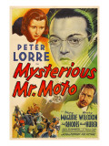 Mysterious Mr Moto  Mary Maguire  Peter Lorre  Leon Ames  1938