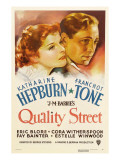 Quality Street  Katharine Hepburn  Franchot Tone  1937