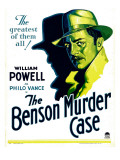 Benson Murder Case  William Powell on Window Card  1930