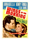 Wings of the Morning  Henry Fonda  Annabella on Midget Window Card  1937