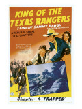King of Texas Rangers  Top from Center: Sammy Baugh  Pauline Moore in &#39;Chapter 4: Trapped&#39;  1941
