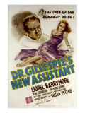 Dr Gillespie&#39;s New Assistant  Lionel Barrymore  Susan Peters  1942