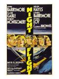 Night Flight  John Barrymore  Helen Hayes  Clark Gable  1933