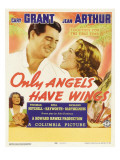 Only Angels Have Wings  Cary Grant  Jean Arthur  Rita Hayworth  Cary Grant on Window Card  1939