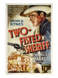 Two-Fisted Sheriff  Charles Starrett  1937