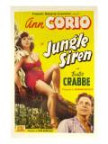 Jungle Siren  Ann Corio  Buster Crabbe  1942