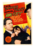 Big City  Spencer Tracy  Luise Rainer on Midget Window Card  1937