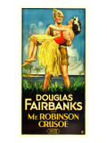 Mr Robinson Crusoe  Douglas Fairbanks Sr  Maria Alba  1932