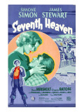 Seventh Heaven  Foreground: James Stewart  Background from Left: Simone Simon  James Stewart  1937