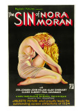 The Sin of Nora Moran  Poster Art  1933