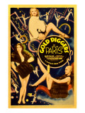 Gold Diggers in Paris  Poster Art  1938