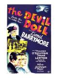 The Devil Doll  Lionel Barrymore (In Drag)  Frank Lawton  Maureen O'sullivan  1936