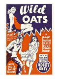 Wild Oats  Poster Art  1940