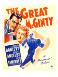 The Great Mcginty (Aka Down with Mcginty)  Brian Donlevy  Muriel Angelus on Window Card  1940