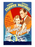 Always Goodbye  Barbara Stanwyck  Herbert Marshall  1938